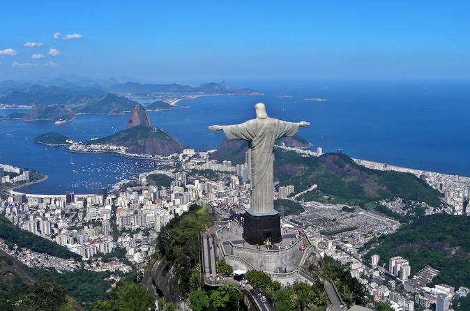 Rio de Janeiro Complete City Tour Including Lunch and Tickets