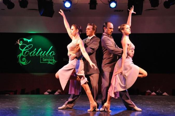 Dinner And Tango Show At 'Catulo Tango' - Buenos Aires