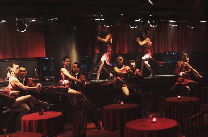 Excursão particular de Buenos Aires City Tour e Rojo Tango Show com jantar