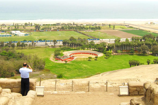 Lima City of Kings Private Half Day Tour Including Pachacamac