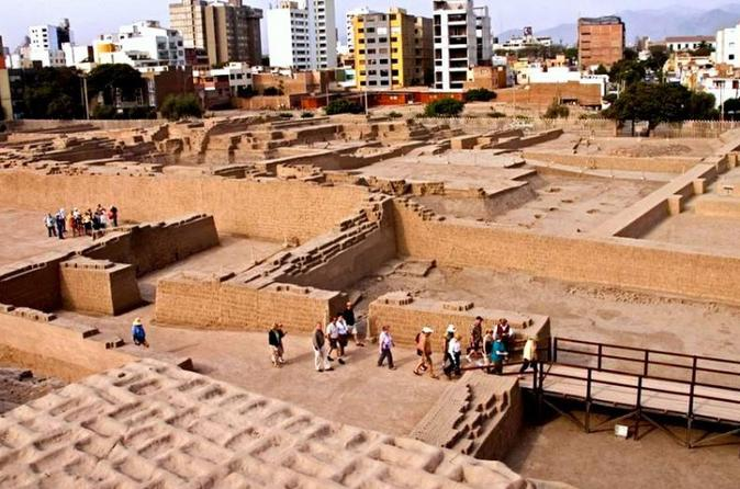 Lima City of Kings Tour and Dinner at Huaca Pucllana
