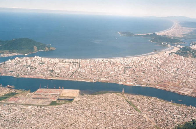 Santos: Full Day Shore Excursion City Tour
