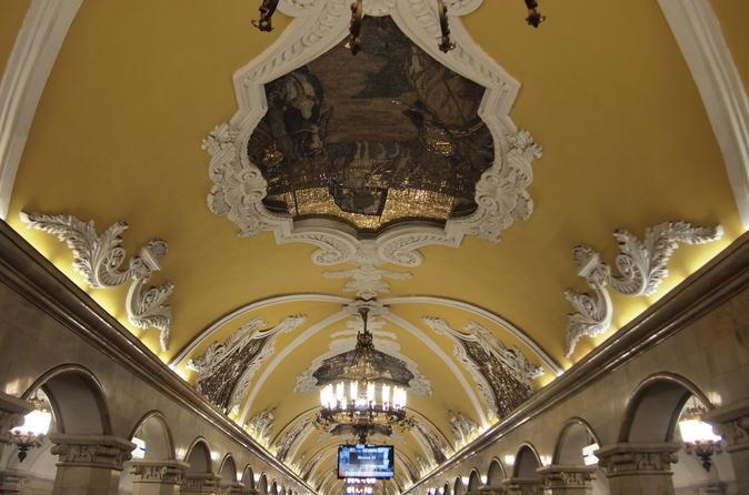 Private Moscow Metro Tour