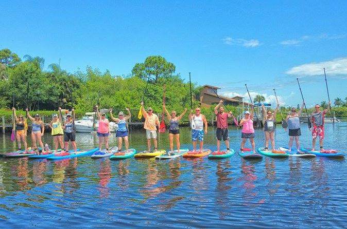 Manatee pocket sup tour in stuart 226650