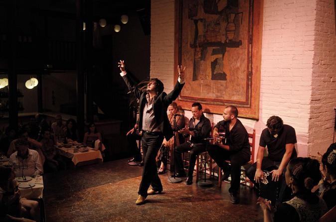 Flamenco Evening Show at Tablao de Carmen with Dinner or Drink
