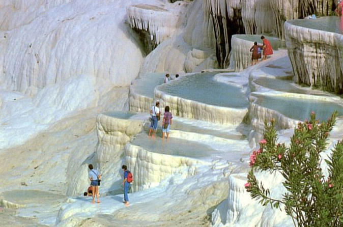 Pamukkale Day Tour from Istanbul by Plane