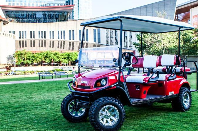 Downtown Nashville Transport by Golf Cart