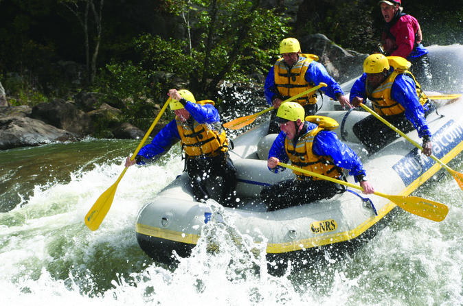 Class V Extreme Whitewater Rafting Gauley River WV - Fayetteville