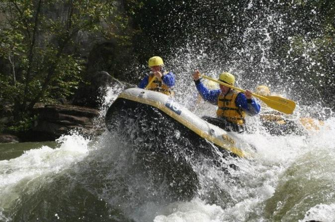 Whitewater rafting lower new river gorge wv in glen jean 296053