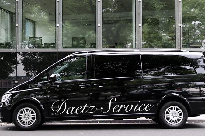 Business Van Shuttle to Munich