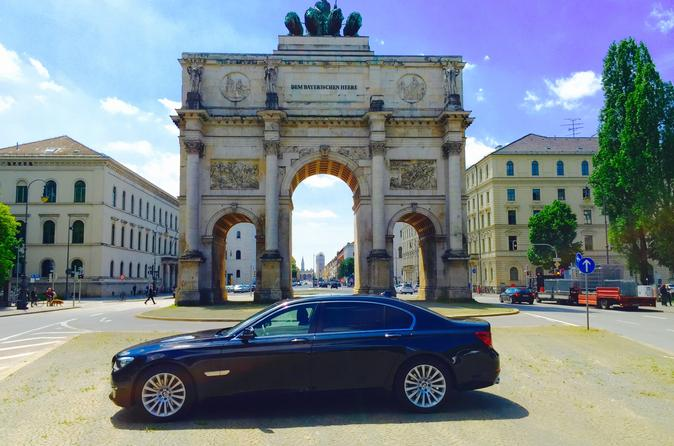 Private Luxury Munich Airport Arrival Shuttle: Munich Airport to Munich Hotels and Surrounding Areas