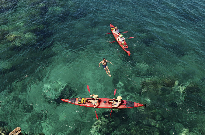 3 islands sea kayaking day trip in zadar 230084