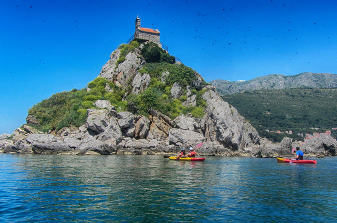 Petrovac Kayak Excursion To Katic And Sveta Nedjelja Islands