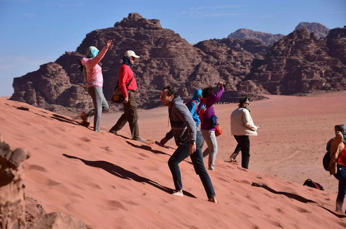 3Day Private Tour: Petra Mount Nebo & Al Karak Castle Wadi Rum Red And Dead Seas - Amman