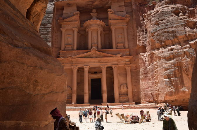 Private Day Trip to Petra and Dead Sea from Amman