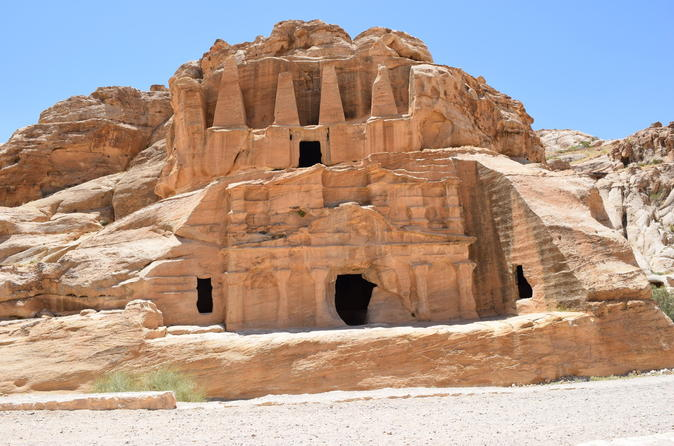 Private Petra Round-Trip Transfers from Amman with Optional Local Guide and Entry Fees