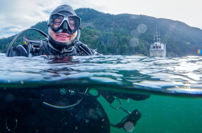 Scuba Diving in Howe Sound