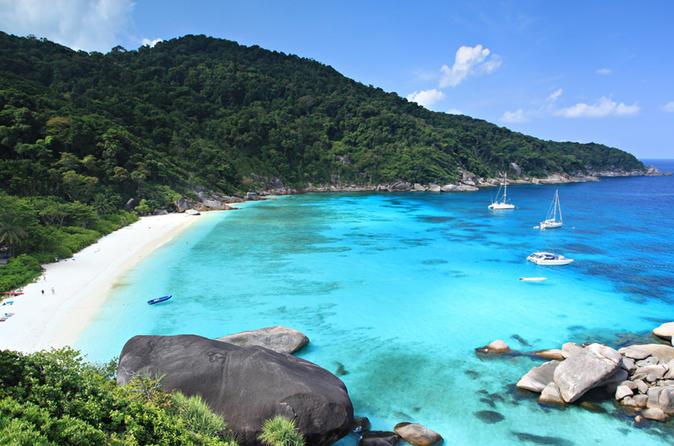 Reise zu den Similan Inseln