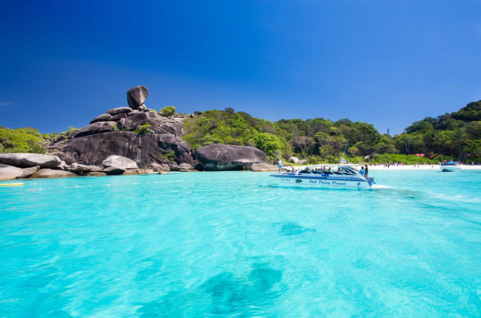 Similan Islands by Speedboat Including Lunch and Transfers From Phuket