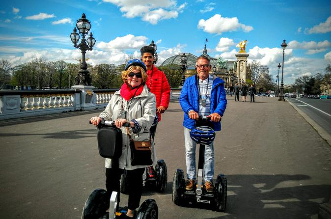 Discover Paris on a Guided Gyropode Tour