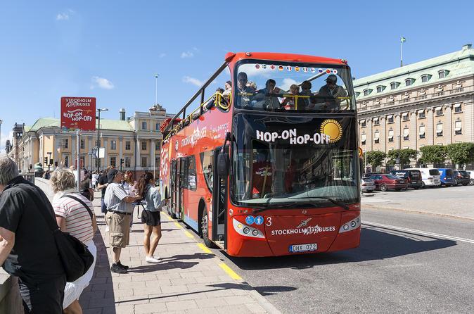 Excursão pelo litoral: Passe diário em ônibus vermelhos com várias paradas
