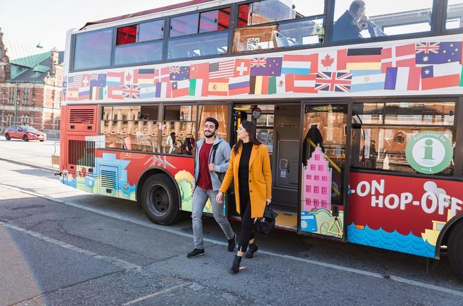Red Buses Copenhagen Red Bus Hop-On Hop-Off Ticket