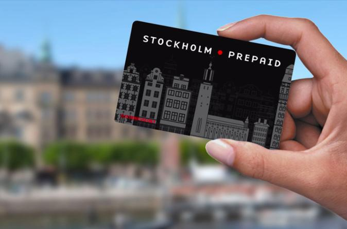 Stockholm prepaid card including local transport in stockholm 285963