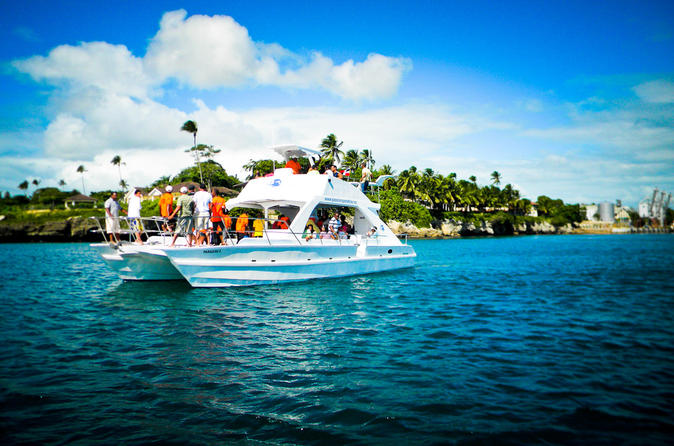 Full day catalina island snorkeling tour from la romana in la romana 240338