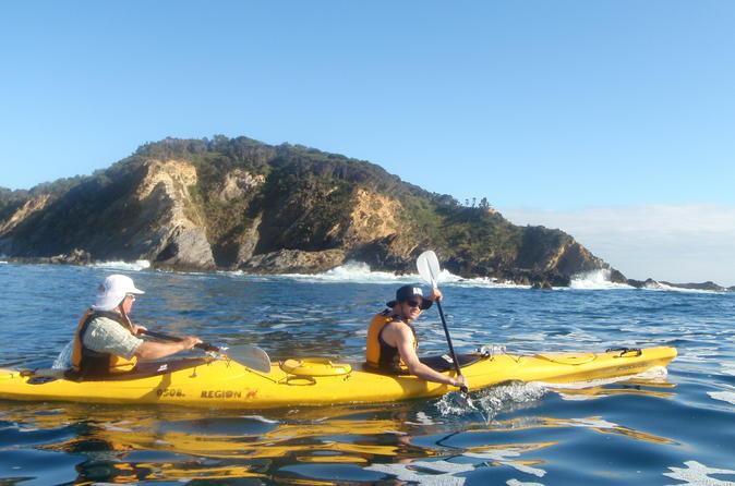 Full Day Sea Kayak Tour From Batemans Bay