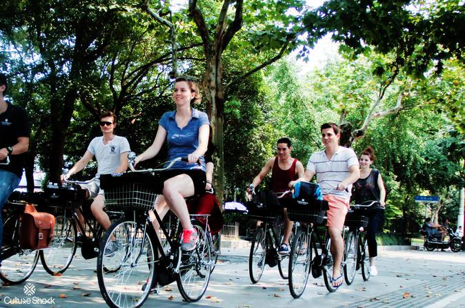 Shanghai half day morning biking tour in shanghai 382392