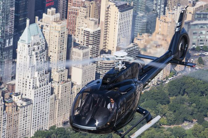 Private New York Helicopter Tour: City Skyline Experience