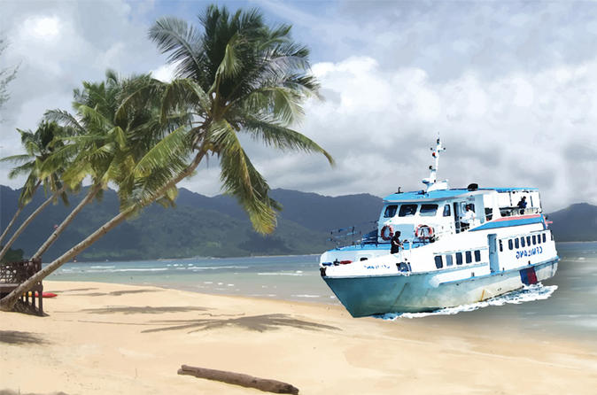 Round-trip Mersing to Tioman Island Ferry Tickets""