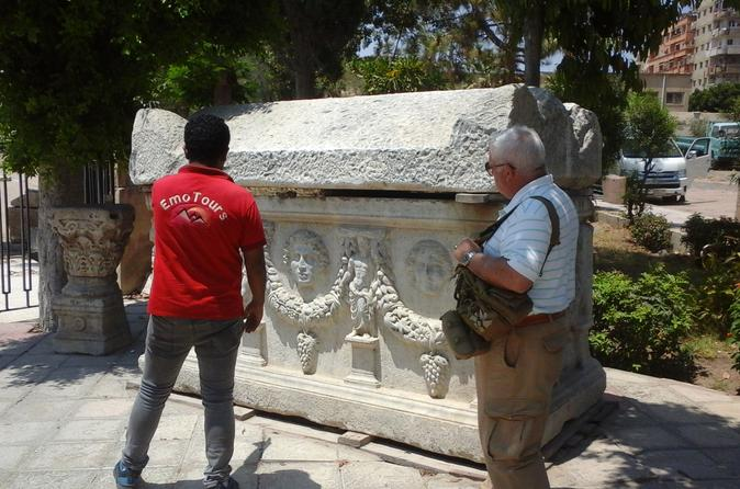 Alexandria Day tour Visiting the Highlights of Alexandria: The Catacombs Alexandria library Roman Theater   Egypt, Africa