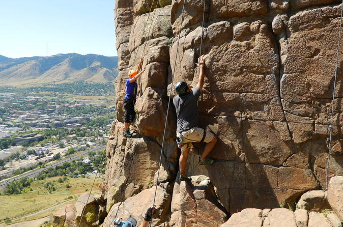 Learn to Rock Climb at North Table Mountain