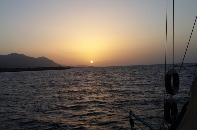 Private sunset boat hire with buffet dinner and bbq in girne 254224