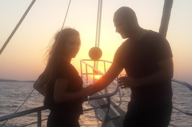 Sunset boat trip with buffet dinner and charcoal bbq in girne 254211