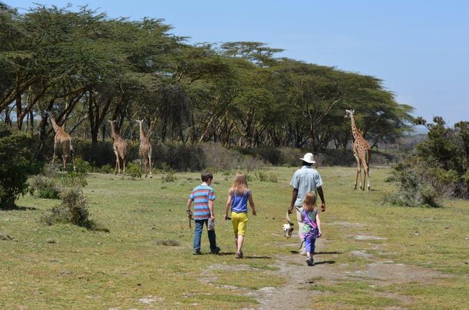 Lake Naivasha Walking with Animals Day Trip From Nairobi