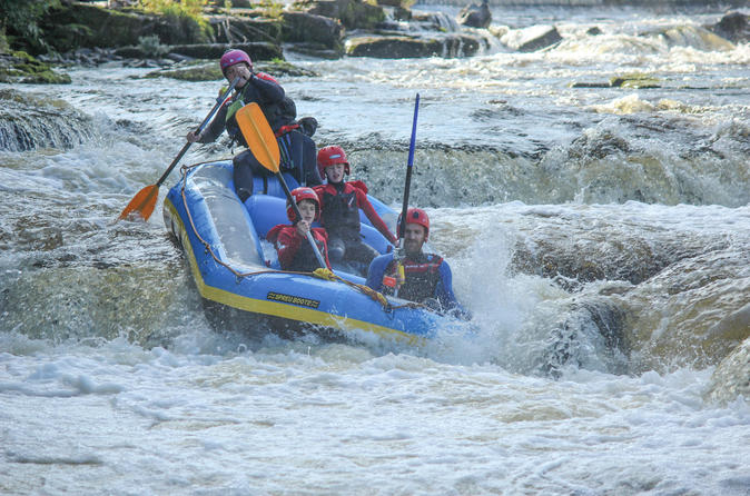 Whitewater rafting on the river dee from llangollen in llangollen 253066