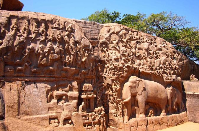 Private Day Tour of Mahabalipuram from Chennai