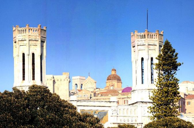 Cagliari city tour minivan sightseeing and walking in cagliari 230735