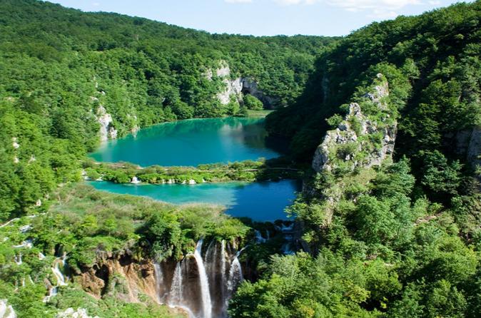Excursão particular nos Lagos de Plitvice saindo de Zagreb