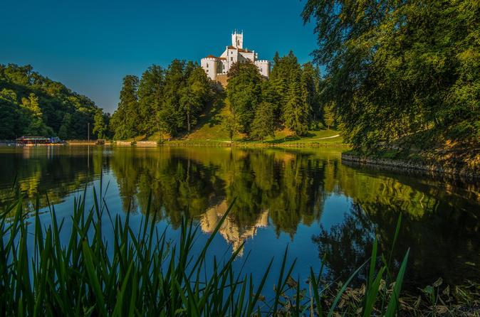 Trakoscan Castle and Varazdin Private Tour