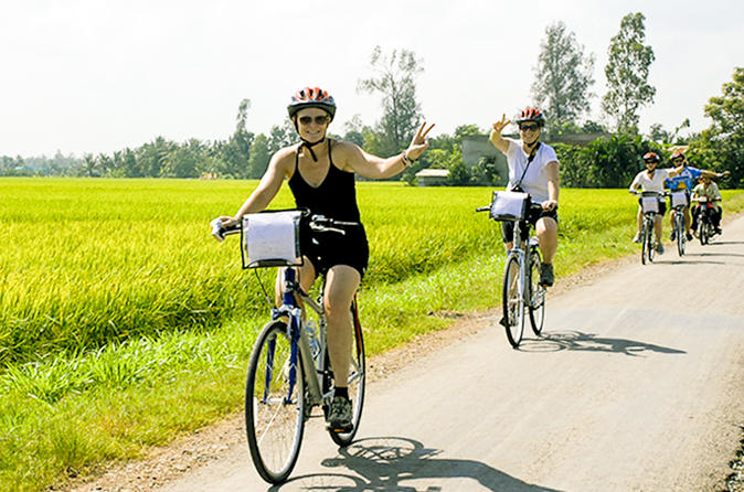 Explore Non-Touristy Mekong Delta with Biking Small Group Tour from Ho Chi Minh