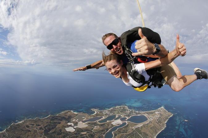 Rottnest island tandem skydive in rottnest island 329698