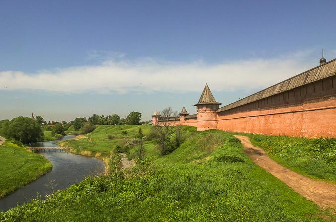 Viagem diurna para Suzdal e Vladimir, partindo de Moscou