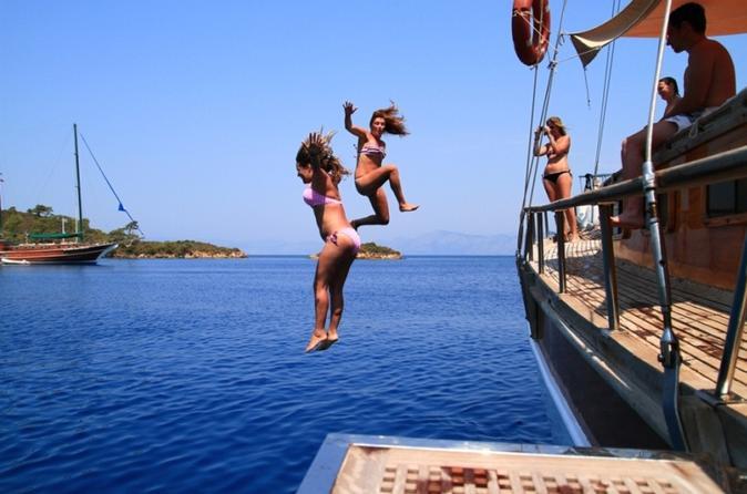 4 Days 3 Nights Blue Cruise From Fethiye To Olympos