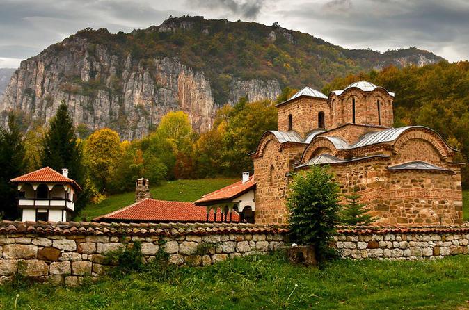Da Bulgária e a Sérvia em Um Dia saindo de Sofia
