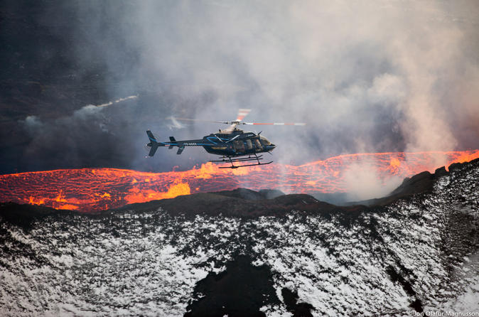 Iceland Helicopter Tour from Reykjavik: Eyjafjallajökull Adventure