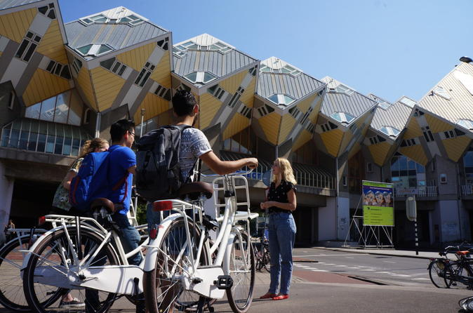 Highlight Biking Tour in Rotterdam