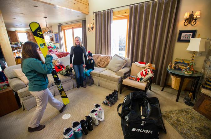 Demo ski rental package from whistler in whistler 241398